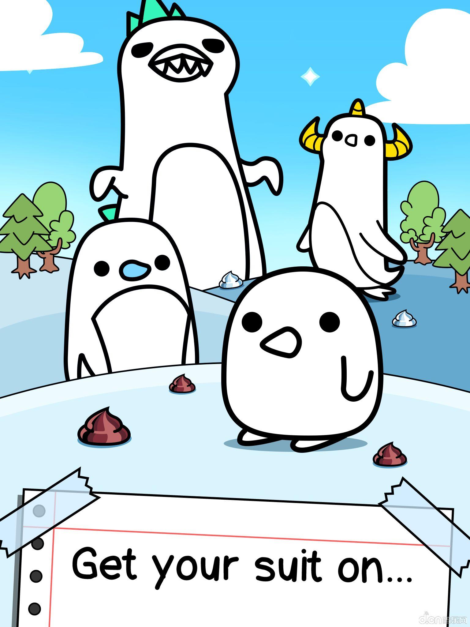 他们就是可爱萌萌的企鹅.