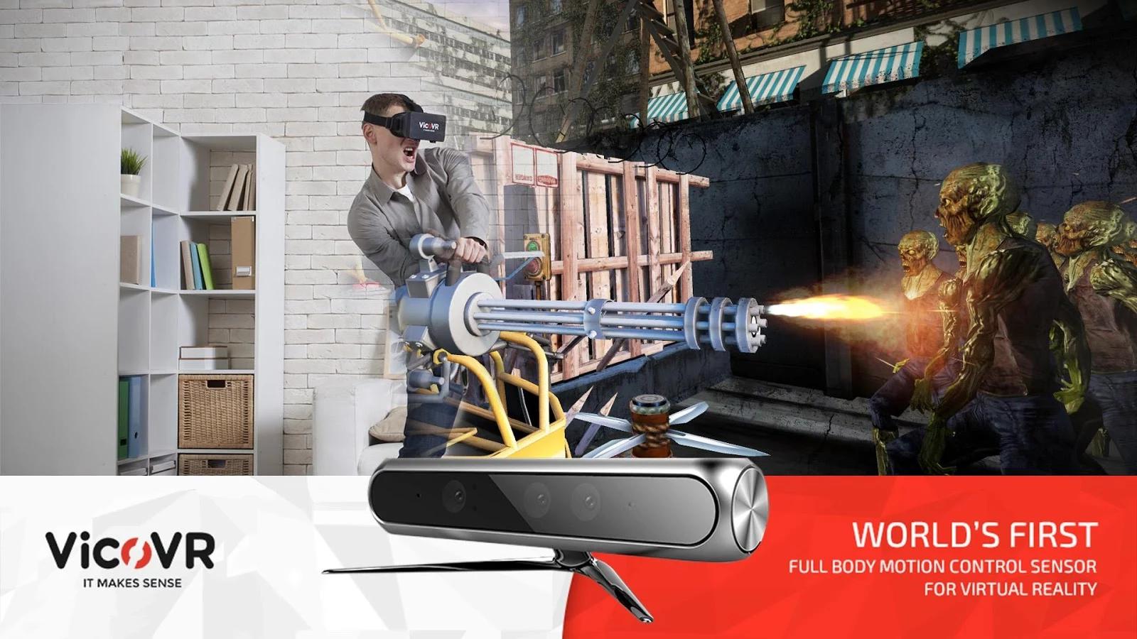 失落的未来:VR射手图1