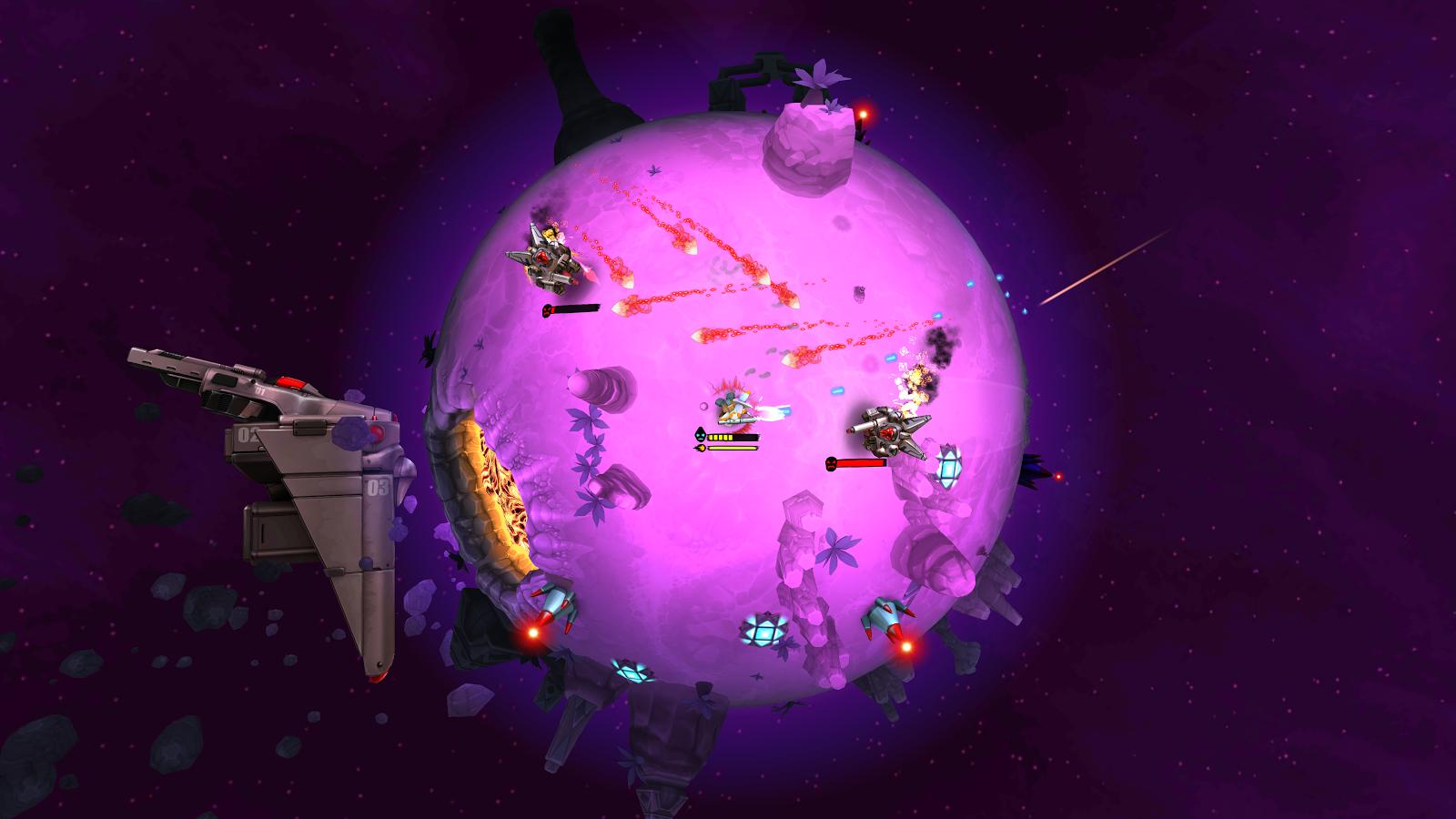 戰斗星球VR圖6
